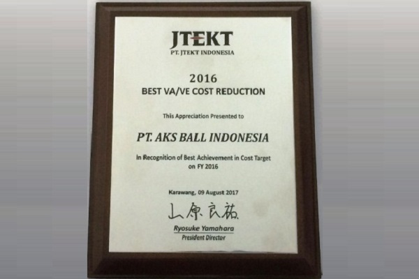 PT AKS Precision Ball Indonesia